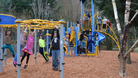 Thank you to everyone who supported our new playground!