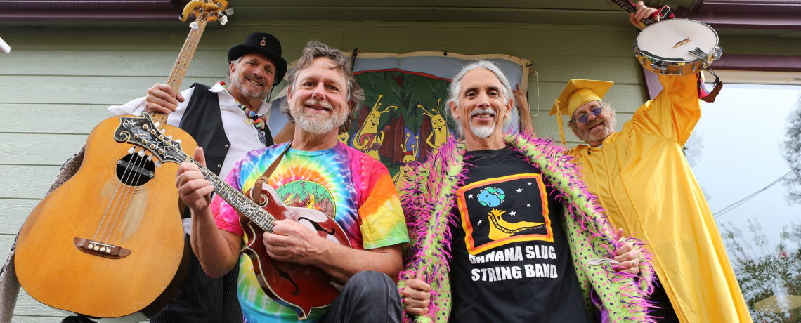 Science Fair Saturday, April 7, 2018 at 12 PM featuring the Banana Slug String Band!