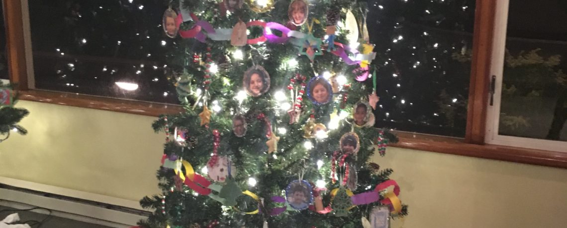 Visit Funhouse Holiday Tree at Rosario